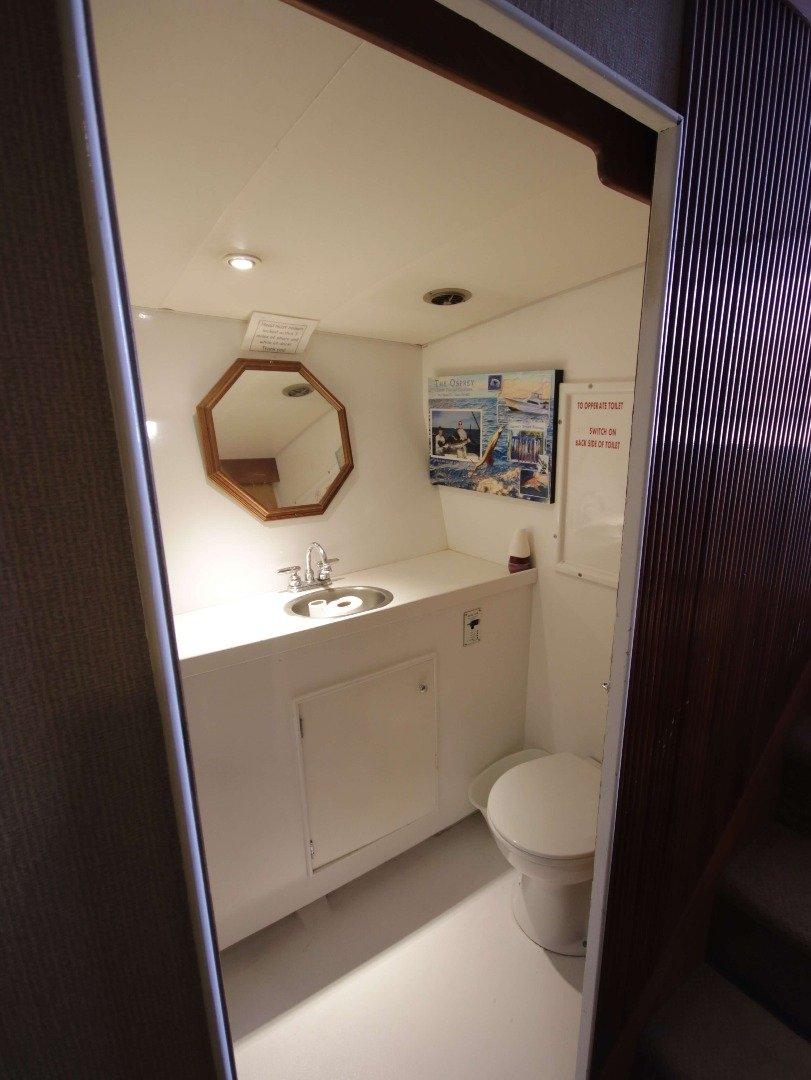 Restroom Rhonda Osprey Offshore Deep Sea Fishing Charter Boat